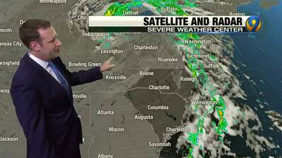 Thursday morning forecast update by meteorologist Keith Monday