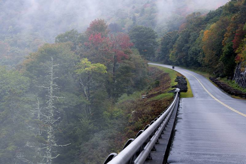 Experts anticipate that this coming weekend (Oct. 9-10) could see peak color at the higher elevations of Grandfather Mountain (5,496 feet and below), with the following week and weekend offering prime fall color viewing opportunities from atop Grandfather and many Blue Ridge Parkway overlooks.