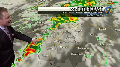 Sunday night's forecast update with Meteorologist John Ahrens