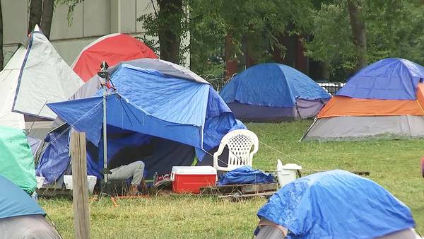 Hotel stay for former tent city residents ends Thursday; temporary housing located