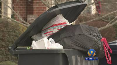 Trash crews pick up garbage for first time in weeks in Charlotte-area neighborhoods