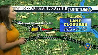 Traffic Team 9 outlines Panthers gameday traffic, local road closures