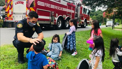 10 siblings will start school prepared thanks to Charlotte Fire Department
