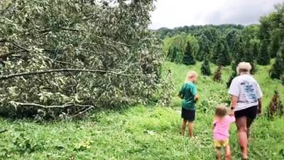 NWS confirms EF-1 tornado touched down in Iredell, Alexander counties