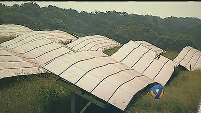 Eclipse could drain Union County solar farm of energy