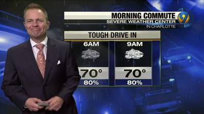 Monday night's forecast with Meteorologist John Ahrens