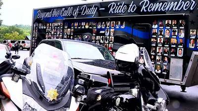 Speedway ceremony honors Concord police officer killed in line of duty