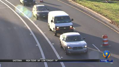 More ramps, lanes to close on I-277 as improvement project continues