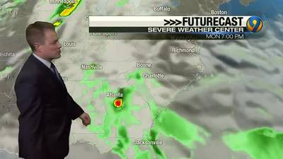 Sunday night's forecast with Meteorologist John Ahrens