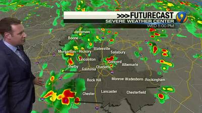 Keith Monday's Wednesday Midday Weather Forecast