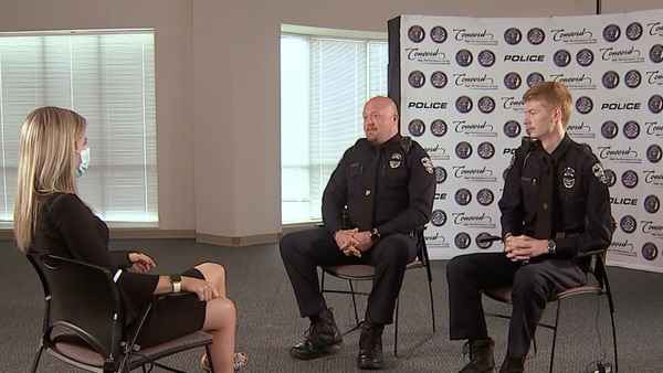Concord officers who survived shootout open up about night they lost fellow officer