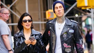 Kourtney Kardashian engaged to Blink-182′s Travis Barker