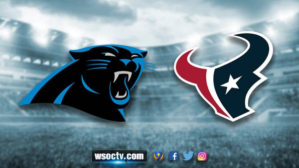 Panthers, with key players sidelined due to injuries, defeat Texans, 24-9