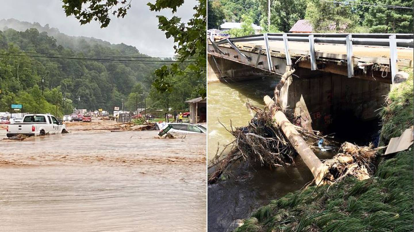 AUGUST 18, 2021 - Haywood County was hit hard with record flooding on the Pigeon River from Tropical Storm Fred.