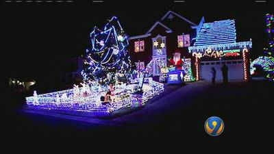 Indian Trail home featured on ABC's 'Great Christmas Light Fight'