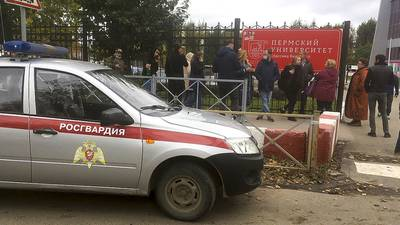 Russia university shooting: 8 dead after gunfire erupts in Perm