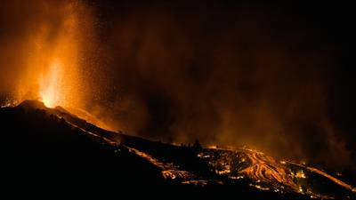 Photos: Volcano on Spain's Canary Islands erupts, sparking mass evacuations