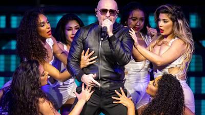 Photos: Pitbull performs PNC Music Pavilion in Charlotte
