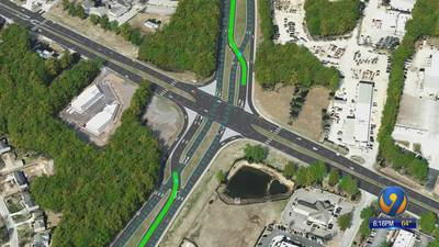 First traffic pattern of its kind in NC comes to west Charlotte intersection