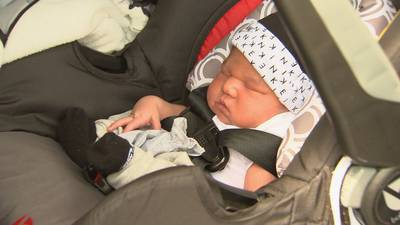 'You're a warrior': 911 operator meets mom, newborn she helped deliver