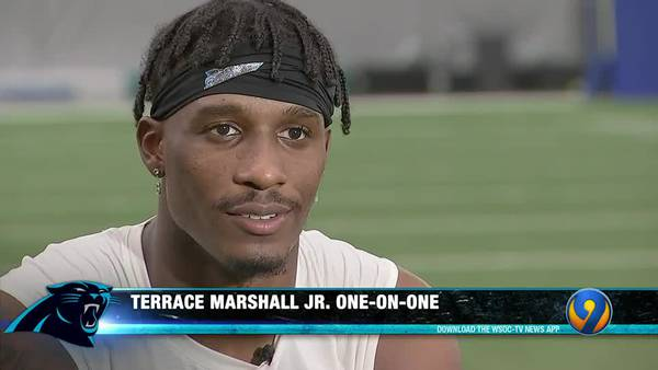Panthers Gameday: Terrace Marshall one-on-one P2