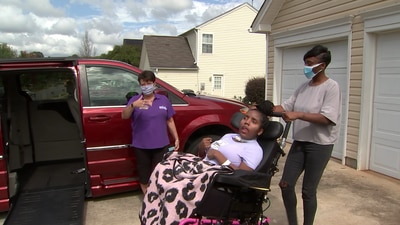 'A huge relief': Nonprofit surprises Channel 9 viewer with wheelchair van donation