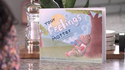 Local social workers create children's book to help those who witness domestic violence