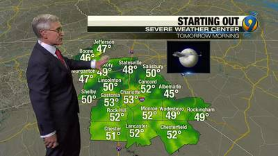 Wednesday evening's forecast update with Chief Meteorologist Steve Udelson