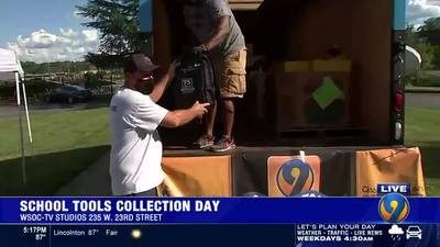 9 School Tools Collection Day Cutin 2 on Eyewitness News at 5PM