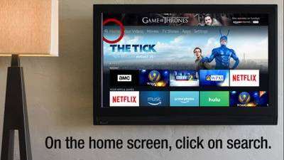 TUTORIAL: How to find WSOC-TV on Amazon Fire