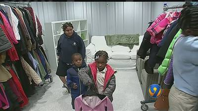 Steve's Coats for Kids helps little girl find perfect winter jacket