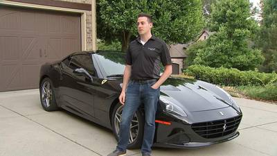 'Let's go': Charlotte man offering Ferrari rides to get vaccine shots