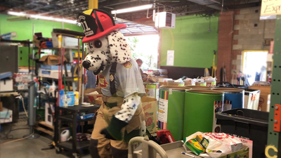 Tens of thousands of school supplies donated at Charlotte Fire stations