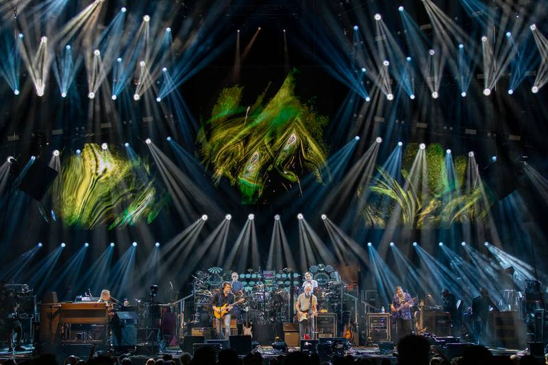 Dead & Company perform for a sold-out crowd at Charlotte's PNC Music Pavilion. Oct. 11, 2021.