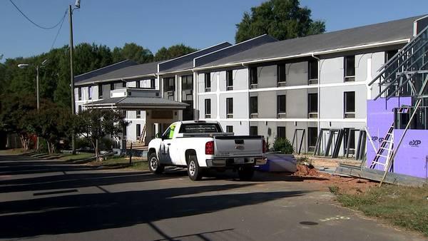 $2 million donation will help turn Charlotte hotel in housing for homeless