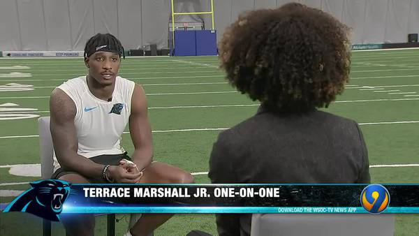 Panthers Gameday: Terrace Marshall Jr. one-on-one P1