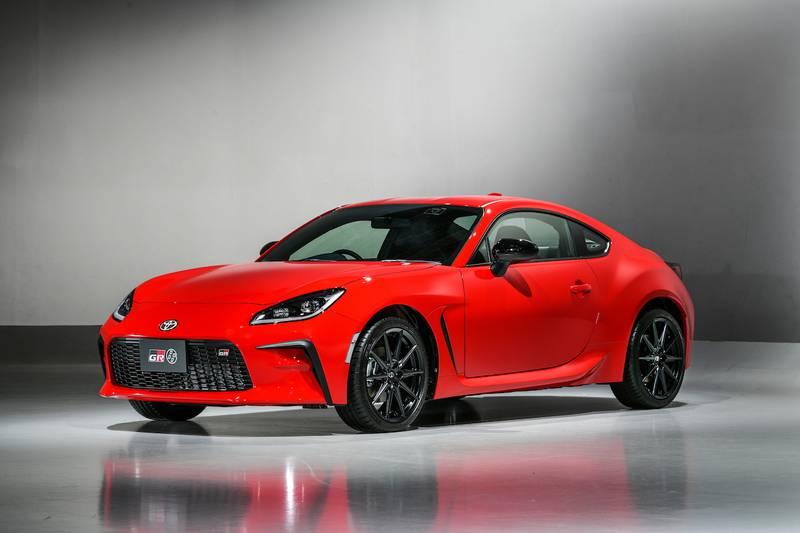 redesigned Toyota car