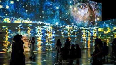 Traveling exhibit takes you inside Van Gogh paintings