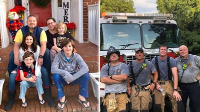 Memorial service planned for Huntersville firefighter who lost battle with COVID-19