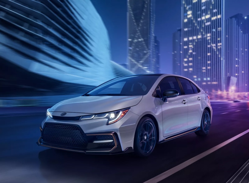best-selling Toyota sedans