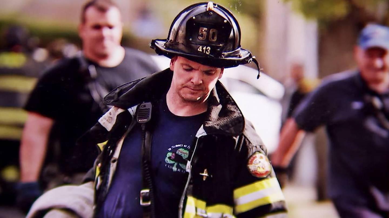 Photo of New York City Firefighter Sean Keenan.