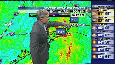 FORECAST: Pattern continues as region braces for afternoon storms