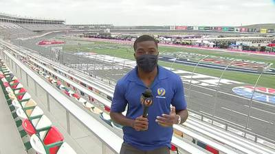 NASCAR Roval 400 could be impacted by showers