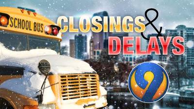 CLOSINGS & DELAYS: CMS cancels classes Friday; several districts on delayed starts