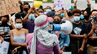 'Bigger than just me': Community donates cash for protest photographer's broken camera
