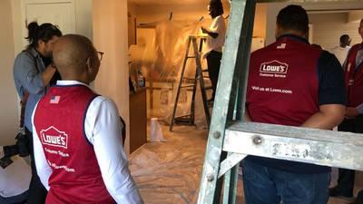 Lowe's donates $250K to east Charlotte community