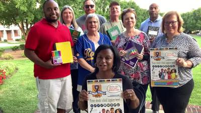 9 SCHOOL TOOLS 25 YEARS Cabarrus County Concord Aften Sunset Rotary Club
