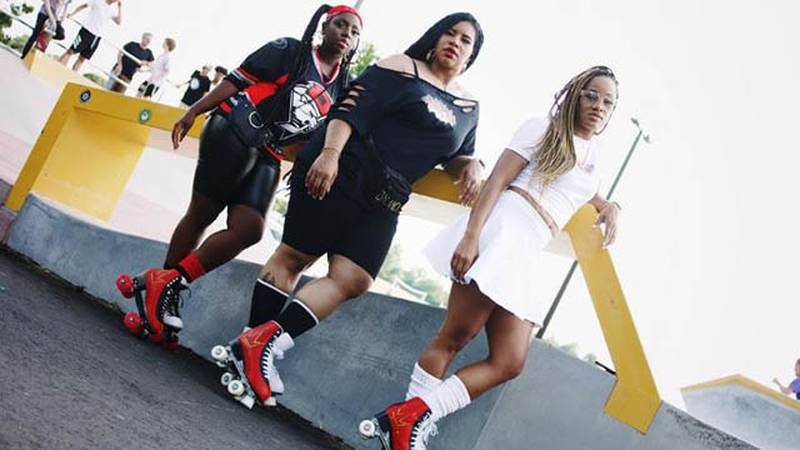 Sh'Niqua Ussery, Brandi Fox and Kendria Holmes have teamed up to launch Rollin' CLT. That outdoor skating rink and lounge debuts next weekend.