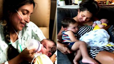 Statesville mom still recovering after contracting COVID during pregnancy