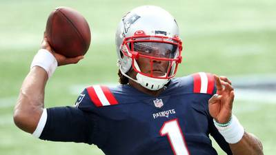 New England Patriots release former Panthers quarterback Cam Newton